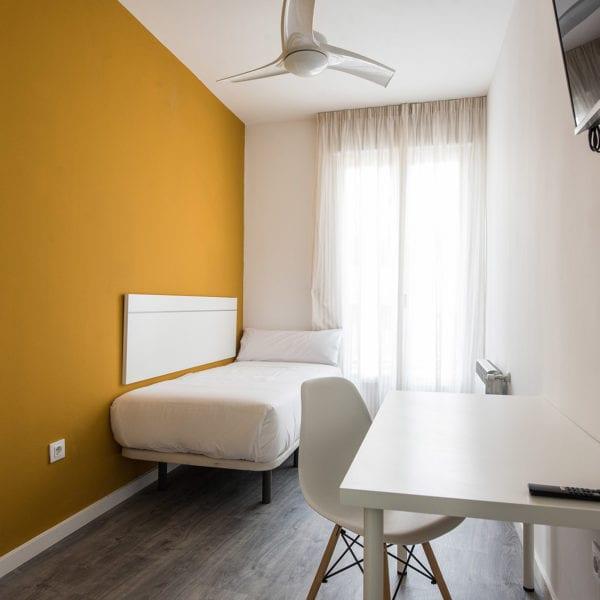habitacion 09 piso para estudiantes hilera 17 madrid