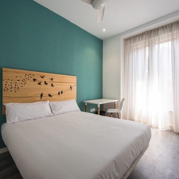habitacion 1 pisos para estudiantes hileras 17