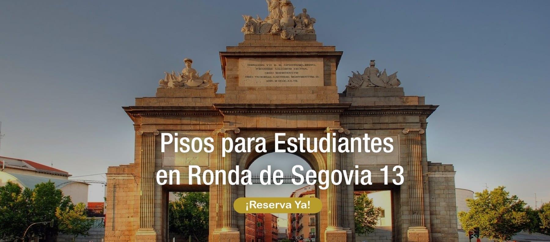 Pisos para estudiantes ronda segovia 13 Madrid