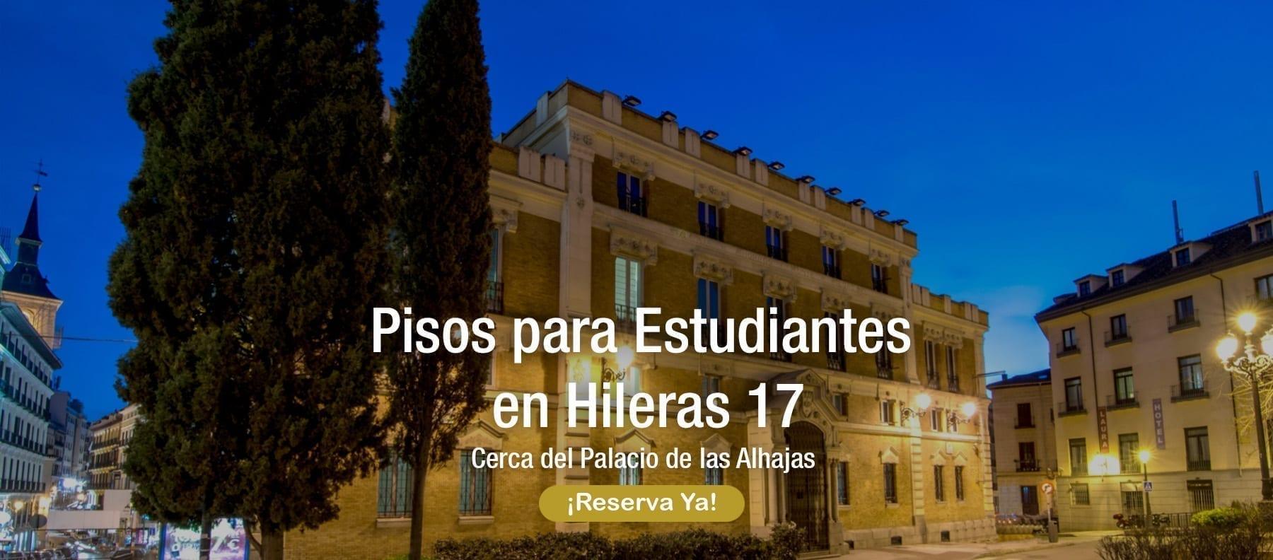 pisos para estudiantes hileras 17 madrid