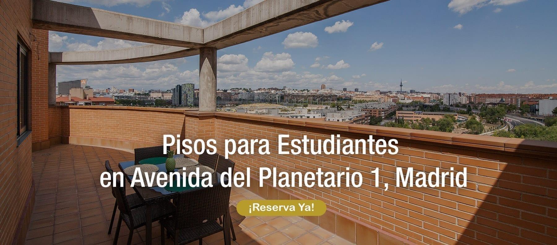 pisos para estudiantes en avenida del planetario 1