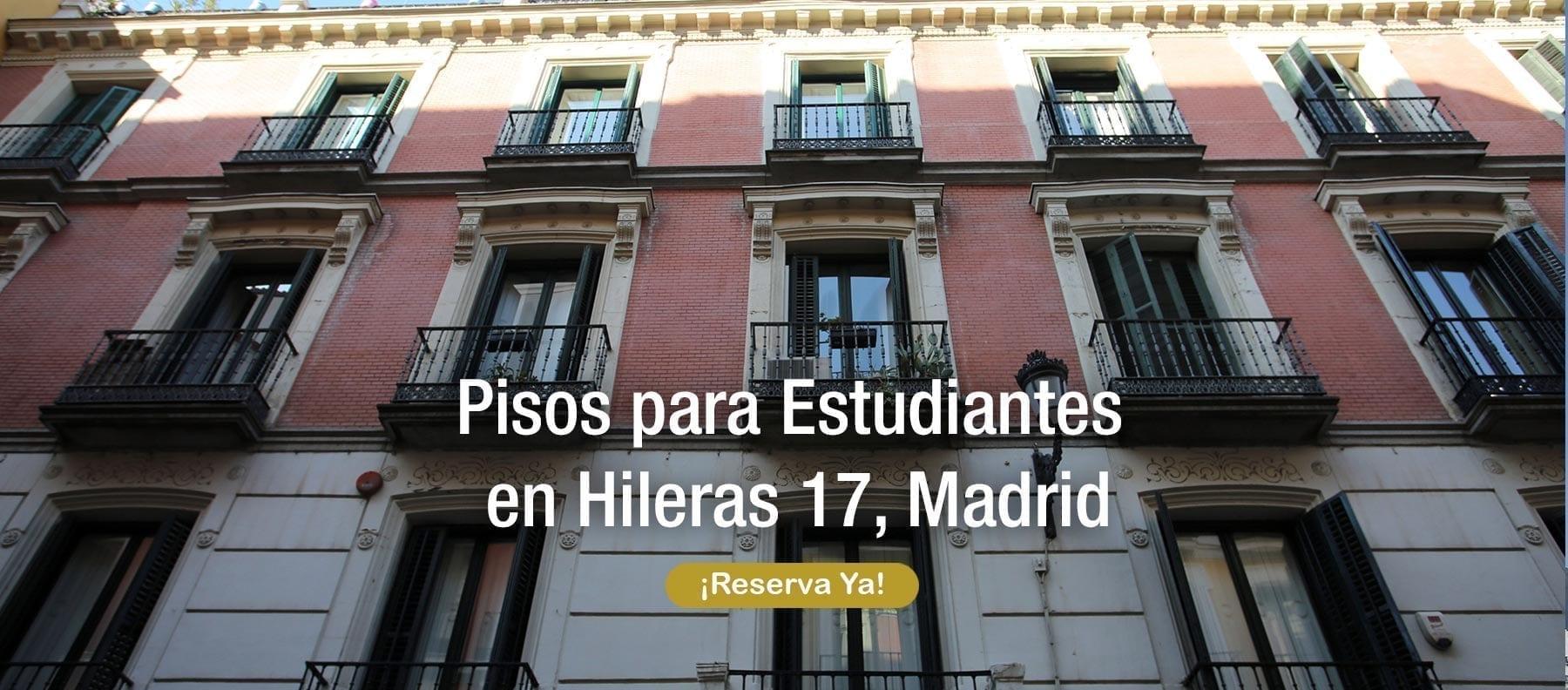 pisos para estudiantes en hileras 17 Madrid